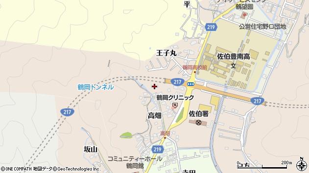 大分県佐伯市鶴望2695周辺の地図