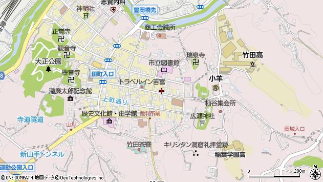 大分県竹田市竹田町153周辺の地図