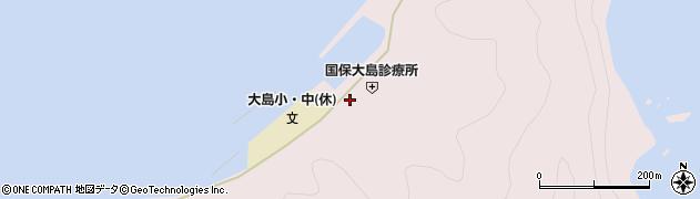 大分県佐伯市鶴見大字大島797周辺の地図