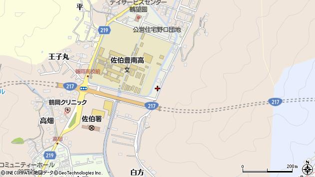 大分県佐伯市鶴望5076周辺の地図