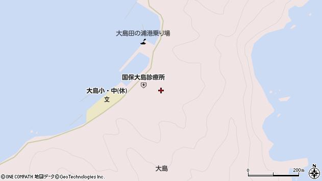 大分県佐伯市鶴見大字大島906周辺の地図