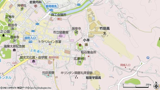 大分県竹田市竹田2627周辺の地図