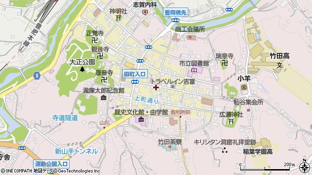 大分県竹田市竹田町240周辺の地図