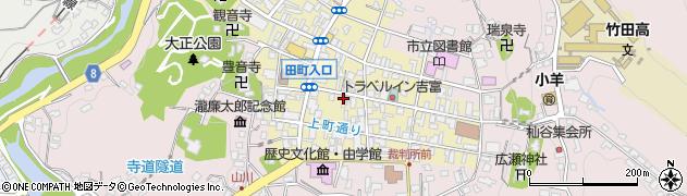 大分県竹田市竹田町243周辺の地図