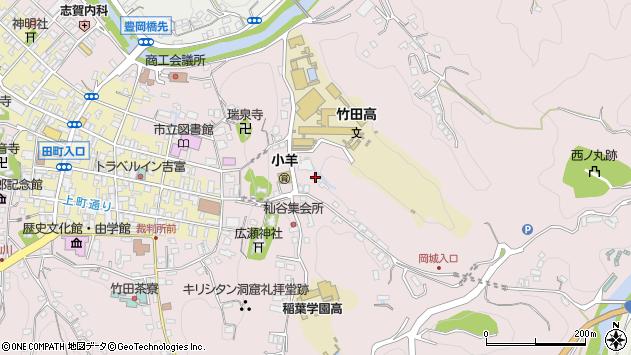 大分県竹田市竹田2619周辺の地図