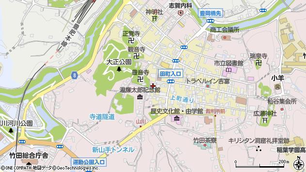 大分県竹田市竹田町474周辺の地図
