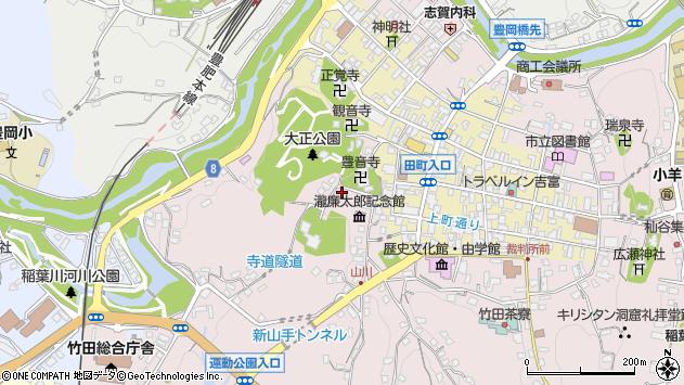 大分県竹田市竹田2116周辺の地図