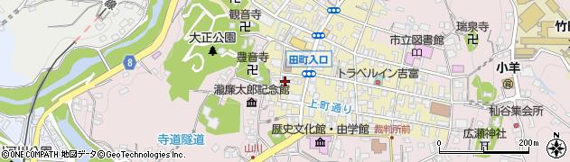 大分県竹田市竹田町461周辺の地図