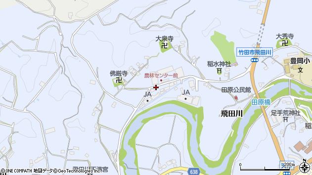 大分県竹田市飛田川2112周辺の地図
