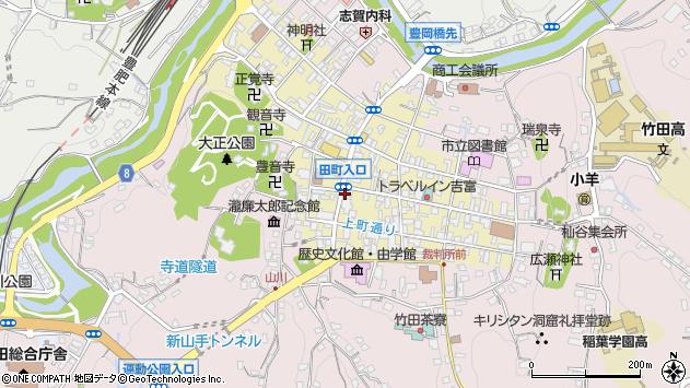 大分県竹田市竹田町386周辺の地図