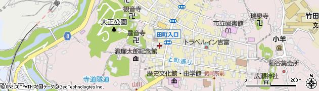 大分県竹田市竹田町458周辺の地図