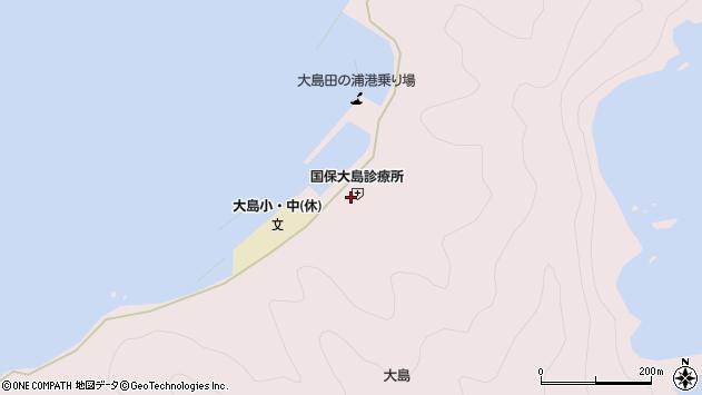 大分県佐伯市鶴見大字大島896周辺の地図