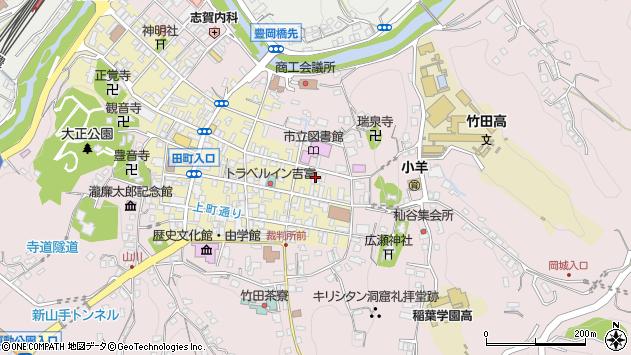 大分県竹田市竹田町171周辺の地図