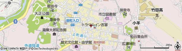 大分県竹田市竹田町317周辺の地図