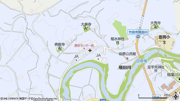 大分県竹田市飛田川2104周辺の地図