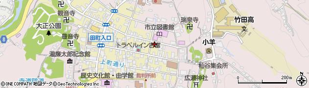 大分県竹田市竹田町175周辺の地図