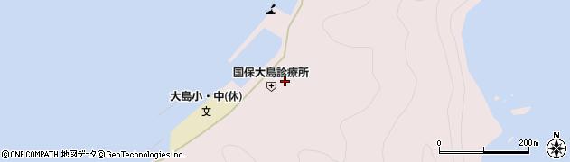 大分県佐伯市鶴見大字大島1028周辺の地図