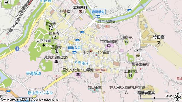 大分県竹田市竹田町314周辺の地図