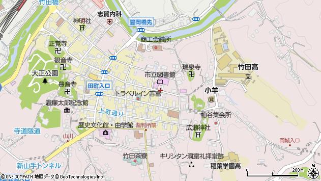 大分県竹田市竹田1976周辺の地図