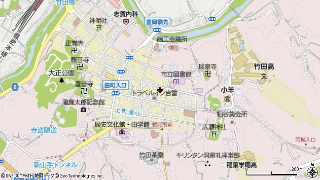 大分県竹田市竹田町189周辺の地図