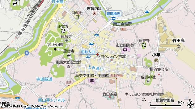 大分県竹田市竹田町259周辺の地図
