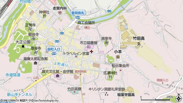 大分県竹田市竹田1993周辺の地図