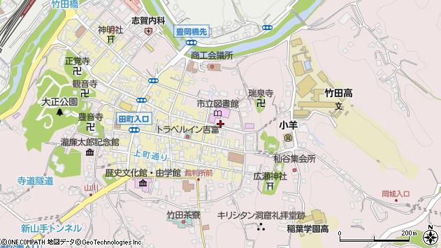 大分県竹田市竹田1977周辺の地図