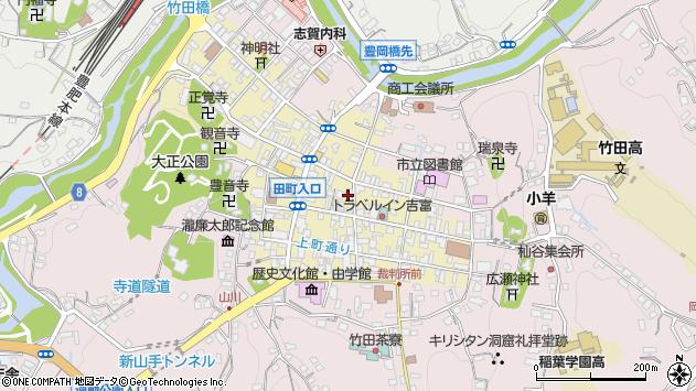 大分県竹田市竹田町269周辺の地図