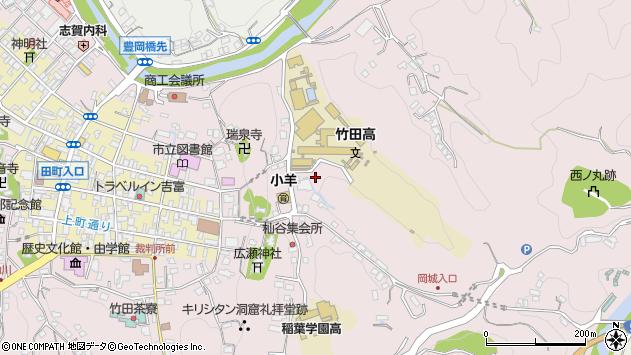 大分県竹田市竹田2648周辺の地図