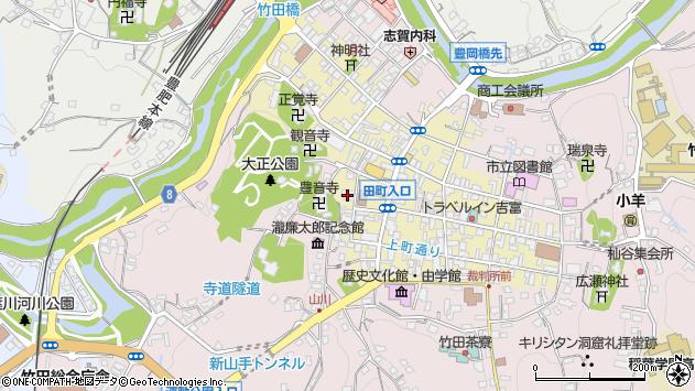 大分県竹田市竹田町480周辺の地図