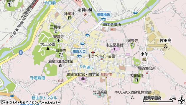 大分県竹田市竹田町270周辺の地図