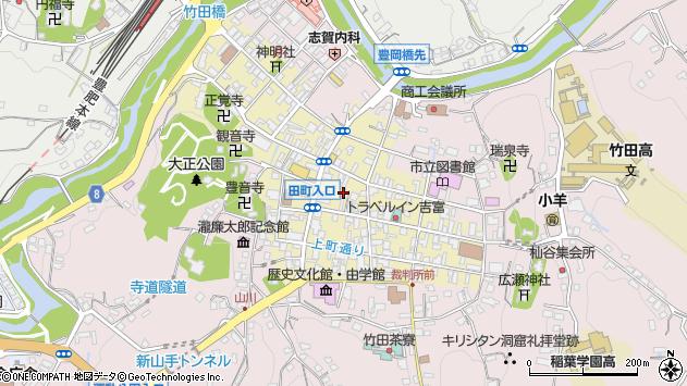 大分県竹田市竹田町276周辺の地図