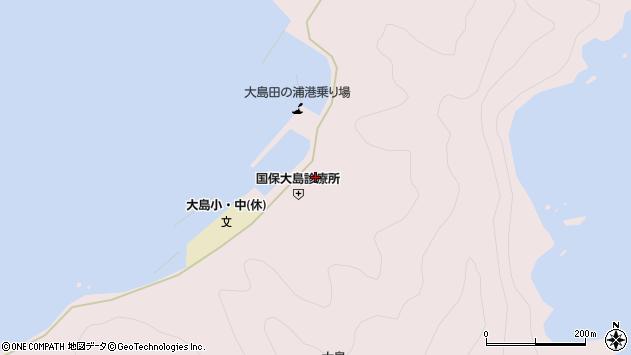 大分県佐伯市鶴見大字大島1011周辺の地図