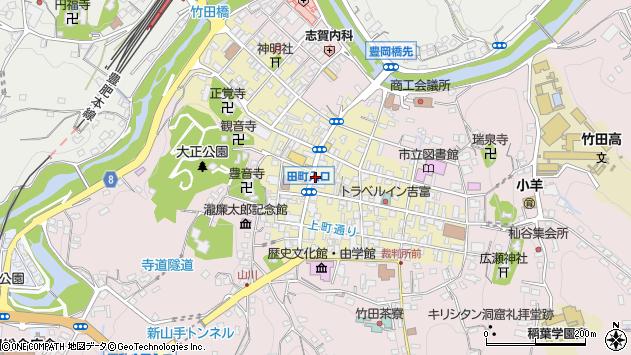 大分県竹田市竹田町380周辺の地図