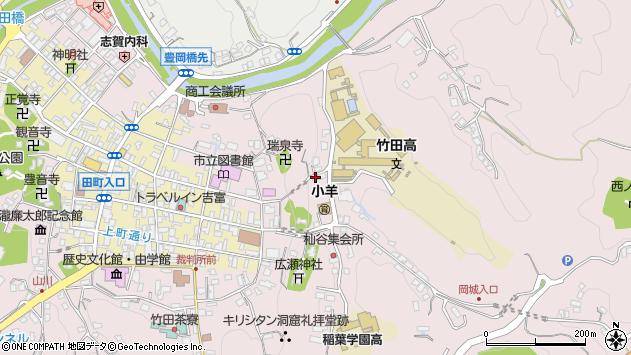 大分県竹田市竹田2631周辺の地図