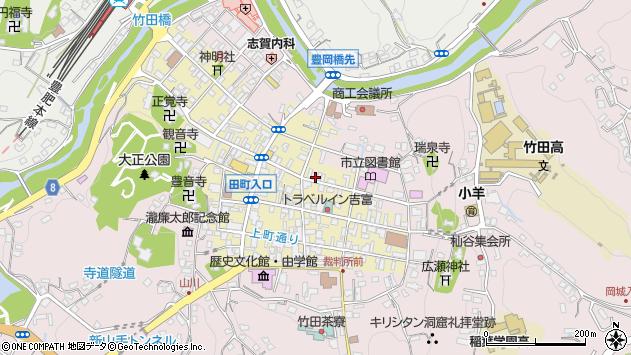 大分県竹田市竹田町309周辺の地図