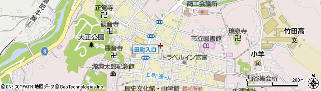 大分県竹田市竹田町279周辺の地図