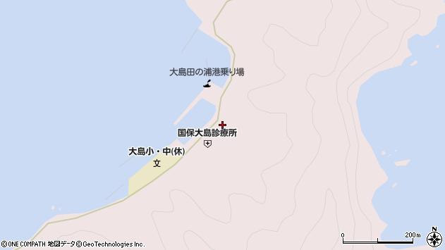 大分県佐伯市鶴見大字大島1009周辺の地図