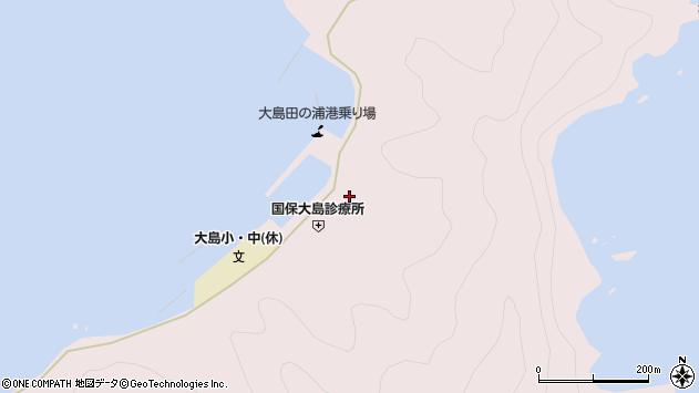 大分県佐伯市鶴見大字大島1024周辺の地図