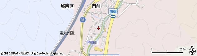 大分県佐伯市上岡2311周辺の地図