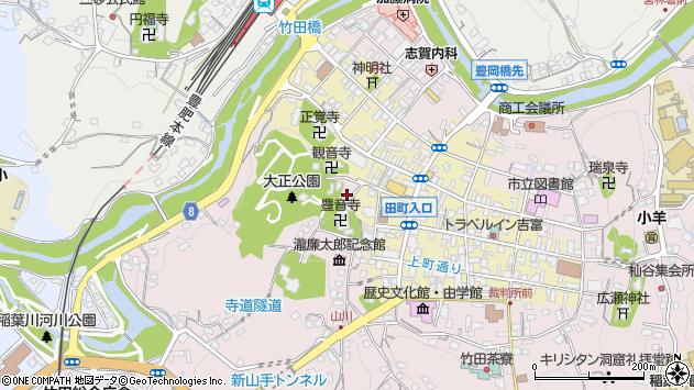 大分県竹田市竹田1779周辺の地図