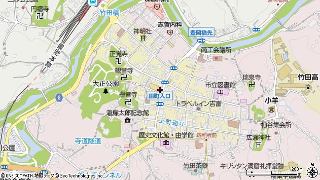 大分県竹田市竹田町495周辺の地図