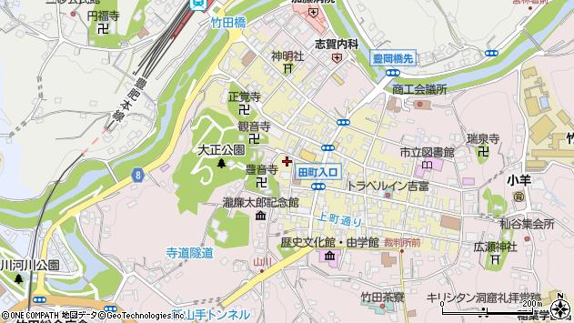 大分県竹田市竹田町486周辺の地図