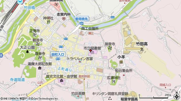 大分県竹田市竹田1974周辺の地図