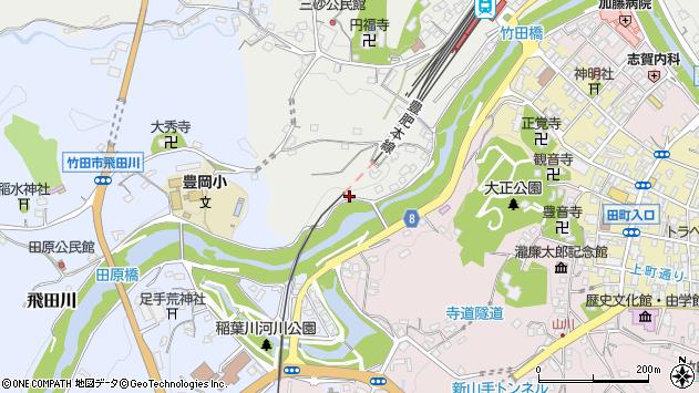 大分県竹田市会々2476周辺の地図