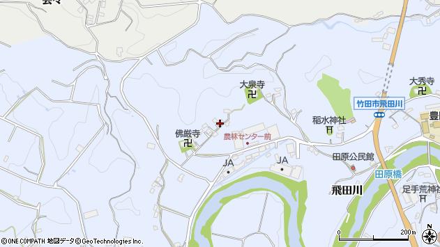 大分県竹田市飛田川2045周辺の地図