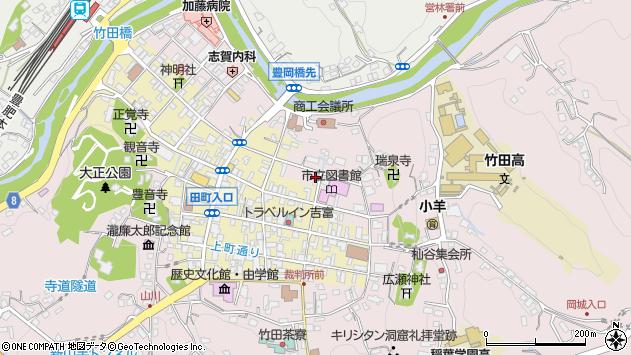 大分県竹田市竹田1973周辺の地図