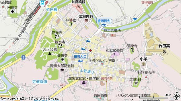 大分県竹田市竹田町286周辺の地図