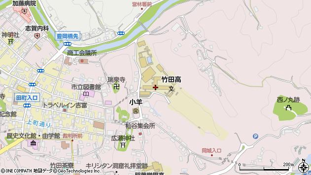 大分県竹田市竹田2642周辺の地図