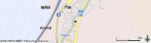 大分県佐伯市上岡3401周辺の地図